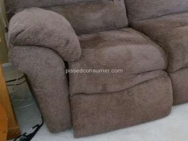 Southern Motion Furniture - Cushion collapses