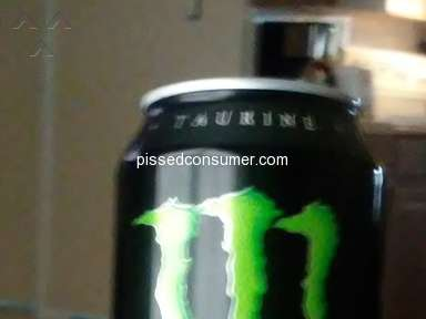 Frank Scott Bunnell High School - Monster Energy Drink (Green Can)