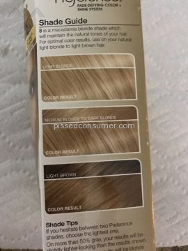 Loreal Usa Medium Blonde Hair Dye