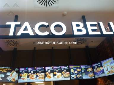 Taco Bell - In Romani at Baneasa Mall unit the size of the portions very small