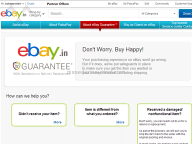 Ebay E-commerce review 36407