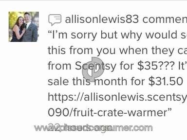 Scentsy - Rude Consultant
