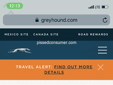 Greyhound - Scam!!!!