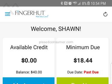 Fingerhut - Billing