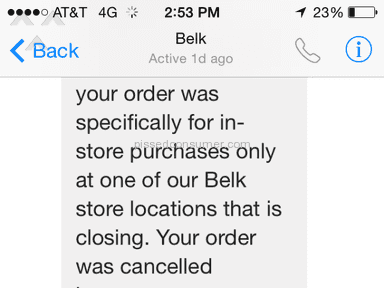Belk Auctions and Internet Stores review 57541
