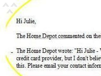 Home Depot Manager review 5213