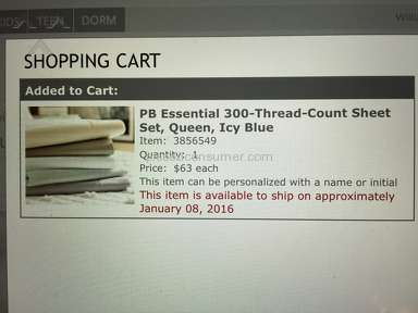 Pottery Barn - Customer Service can't Cancel Online orders!!