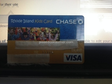 "Chase Bank - Chase ""Kid's Card"" DEBIT VISA steals from Child Support Payments"
