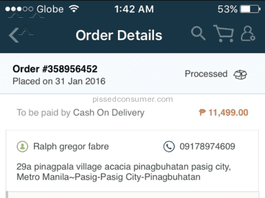 Lazada Philippines Warranty review 114205