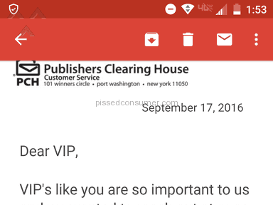 Publishers Clearing House - Simple Review #1474212544