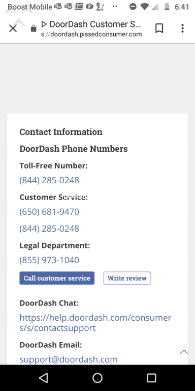 17210 Top Rated DoorDash Reviews and Complaints Page 4