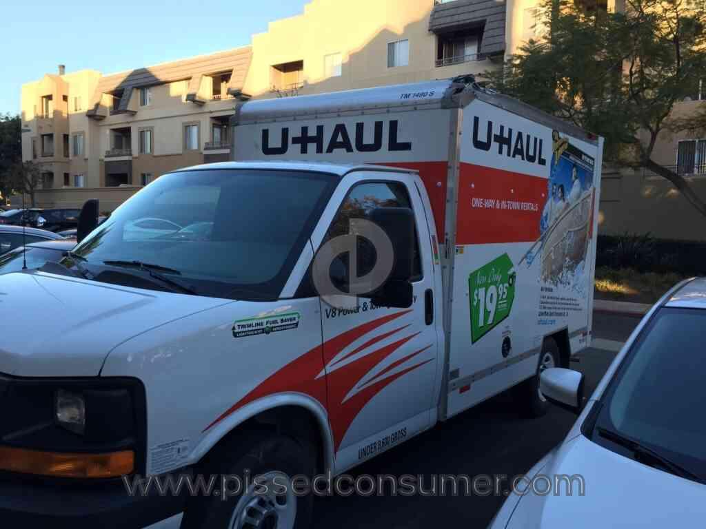 Uhaul - Don't use U-Haul!! They charge me $749!! Feb 04