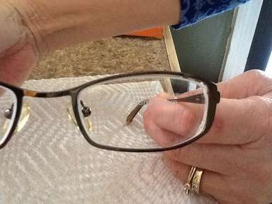 Americas Best Contacts Eyeglasses - Refusal to recut my mothers glasses after promising to do so.