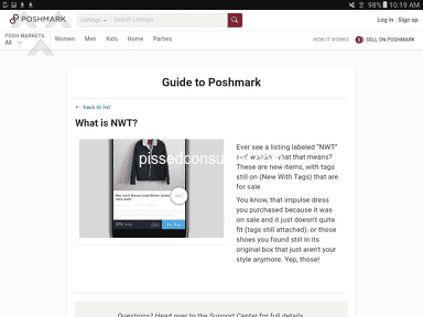 Poshmark Auctions and Marketplaces review 920310