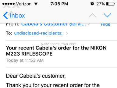 Cabelas - Nikon M-223 Riflescope Review from Roanoke, Virginia