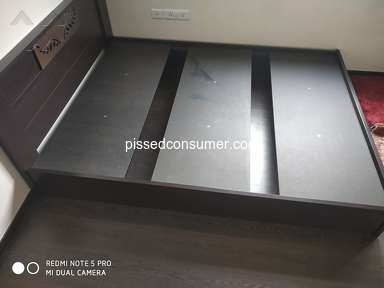 Pepperfry Bed review 359712