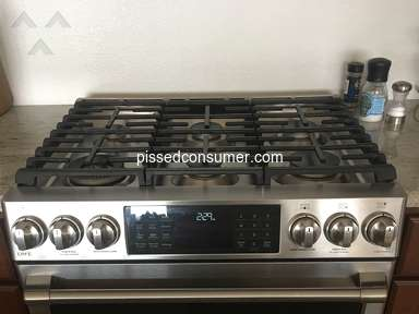 Ge Appliances - Disappointed with CAFE gas stove (2018)