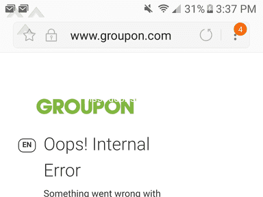 Groupon Website review 285836