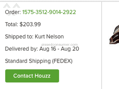 Houzz - Bait and Switch and Price Gouging