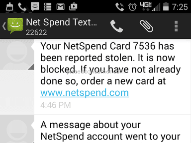 Netspend Premier Debit Card Review from Longview, Texas
