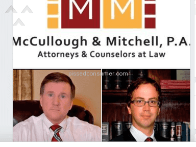 Mccullough And Mitchell - CONSUMERS BEWARE! McCullough & Mitchell Orlando Lawyers, steer clear!