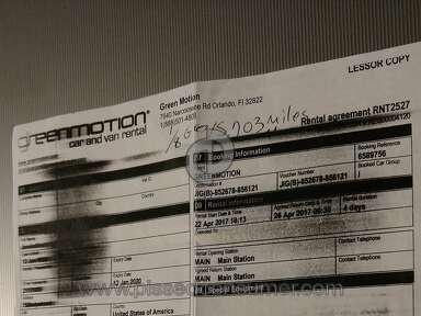 Green Motion Subaru Car Rental review 207306
