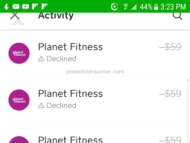 Planet Fitness - Theft.....