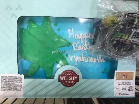 Bjs Wholesale Club Cake