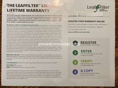 LeafFilter North Gutters and Carpentry review 626879