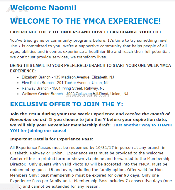 108 YMCA Reviews and Complaints @ Pissed Consumer