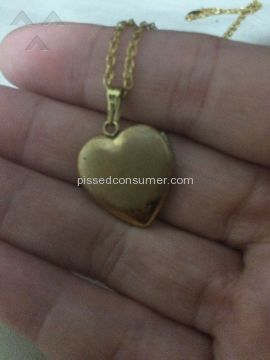 Pictures On Gold Locket