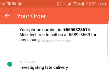 Foodpanda - Delivery Service Review