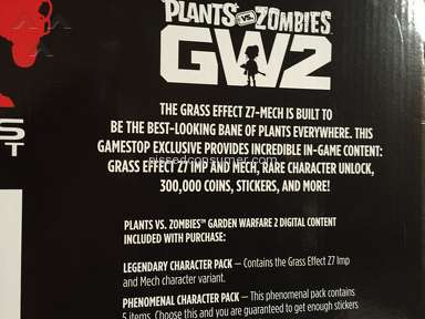 Gamestop - Garden Warfare Rip Off