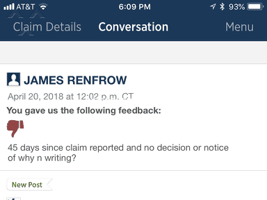 USAA Auto Claim review 284632