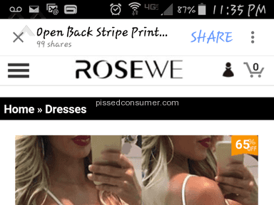Rosewe Dress review 89511