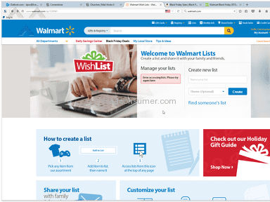 Walmart Supermarkets and Malls review 99701