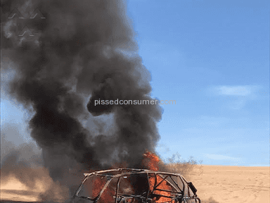 Polaris Industries - Rzr burned to the ground