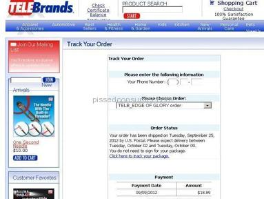 Telebrands Shopping review 8397