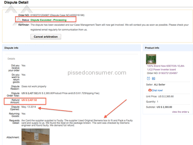 Aliexpress E-commerce review 40803