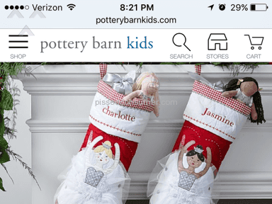 Pottery Barn Kids Ballerina Quilted Stocking Review from Baytown, Texas