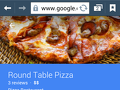 Round Table Pizza - Pizza Order Review from Los Angeles, California