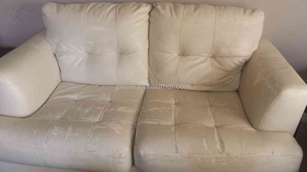 Ashley Furniture   Durablend Leather Sofa Review