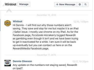 Winloot Customer Care review 174276