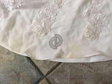 Dhgate Honeywedding Wedding Dress review 130543