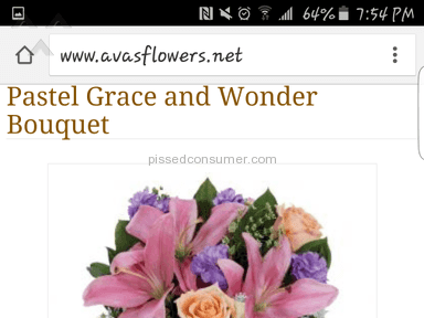 Avasflowers Arrangement review 118555