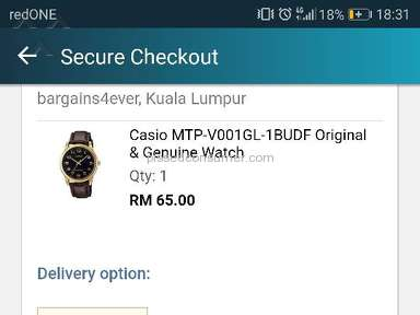Lazada Malaysia - Sucks Live Agent handling postage issue