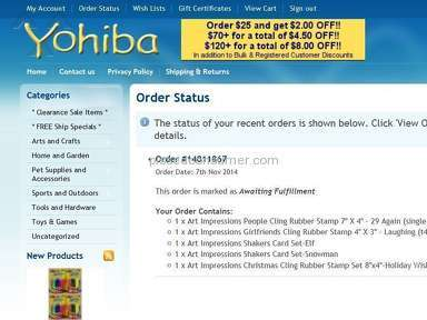 Yohiba Auctions and Internet Stores review 55681