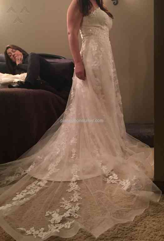 DHgate Wedding Dress Review 190170