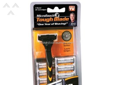 Idea Village - I used one blade then the razor dropped and the handle broke. Website has no operative complaints or contact us. They have an icon on the website , but it DOESN'T WORK.