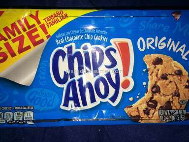 Chips Ahoy - Original Chocolate Chip Cookies Review from Las Vegas, Nevada